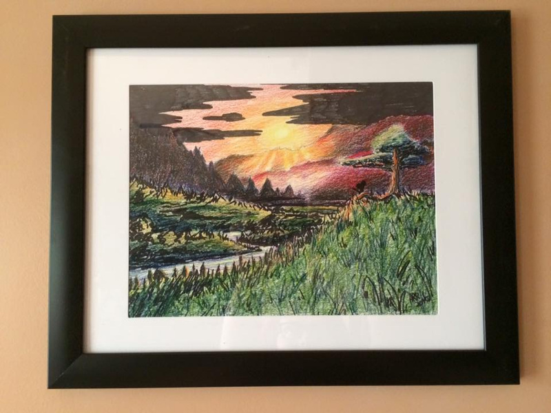Amanda Thompsons Art Portfolio - Sunset