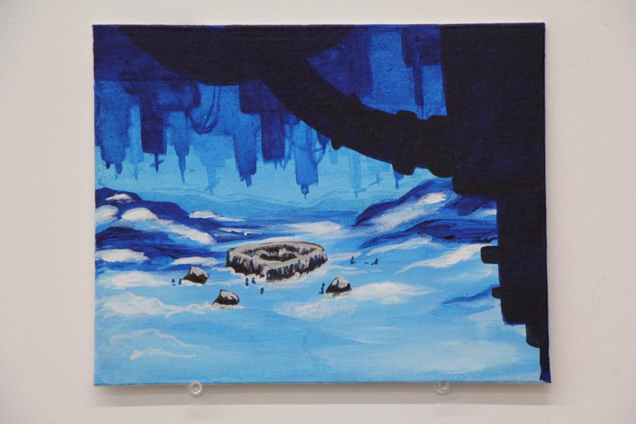 Amanda Thompsons Art Portfolio - The Subterrain