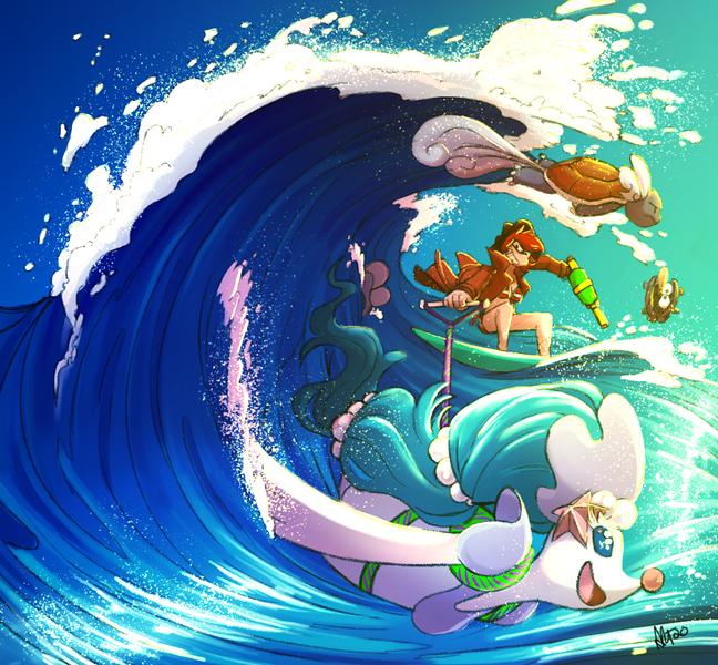 Amanda Thompsons Art Portfolio - Surfs Up!
