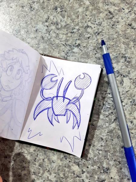 Amanda Thompsons Art Portfolio - Clipper Sketchbook