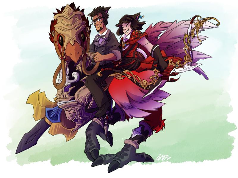 Amanda Thompsons Art Portfolio - Final Fantasy Character Commission