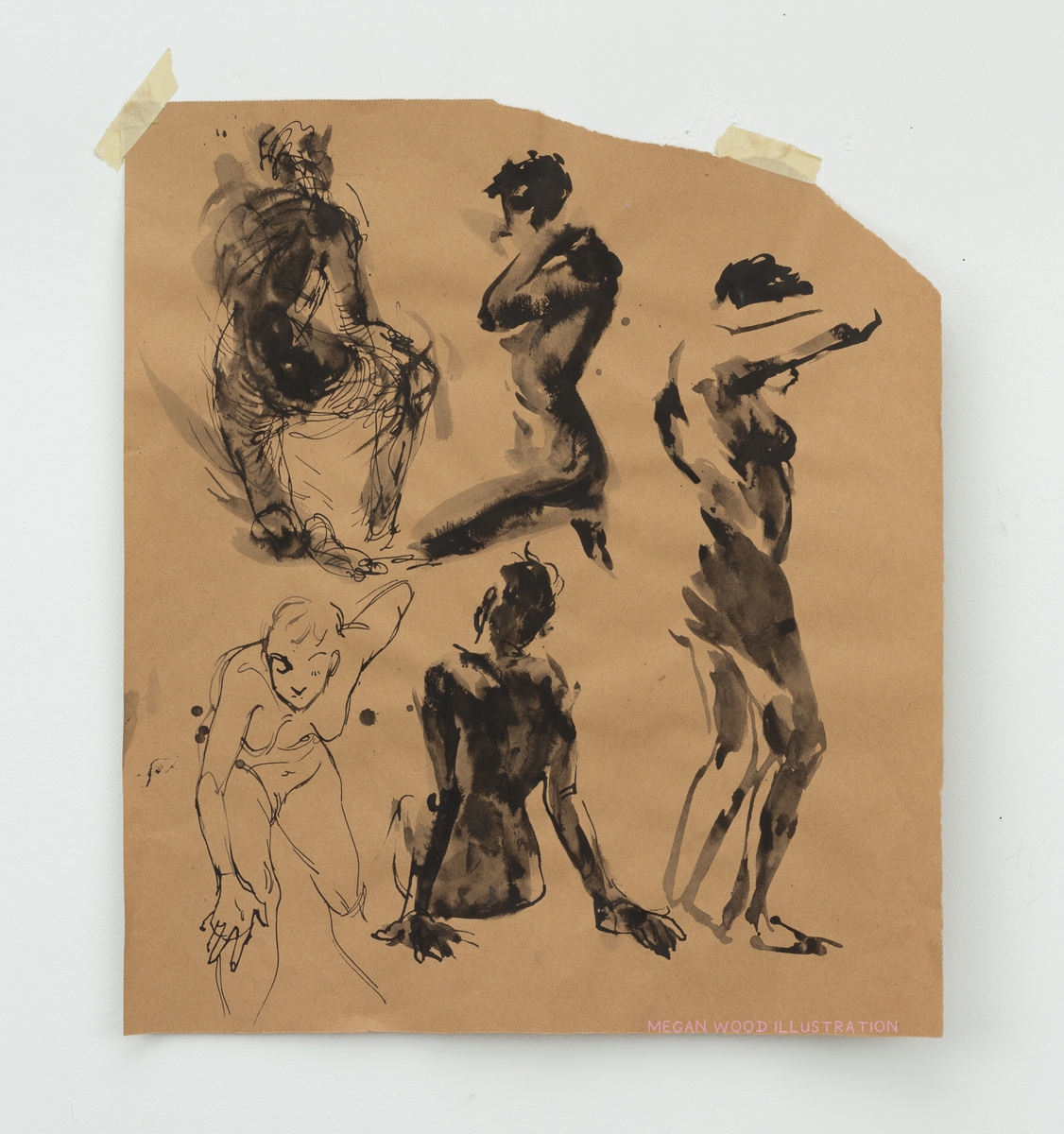 megan wood illustration - Figure Studies 2