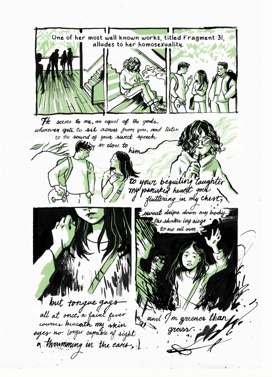 megan wood illustration - Excerpt from Bittersweet