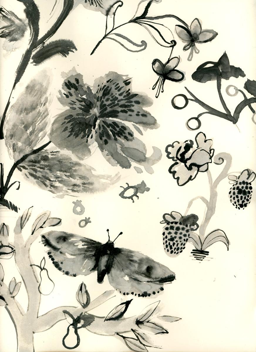 megan wood illustration - Ink