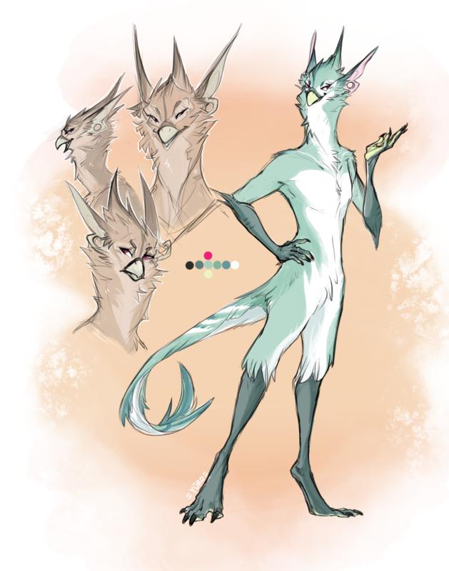 KatHayahshia - Original Character Creature Design (2015)