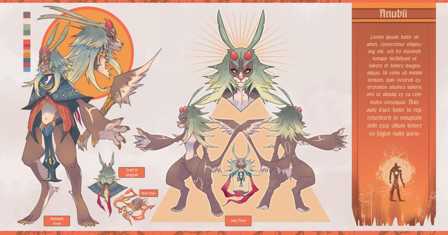 KatHayahshia - Original Character Creature Design (2018)