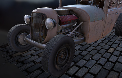 Jose Olivas- 3D art -