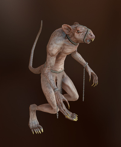 Jose Olivas- 3D art - Rat