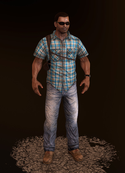 Jose Olivas- 3D art - Detective
