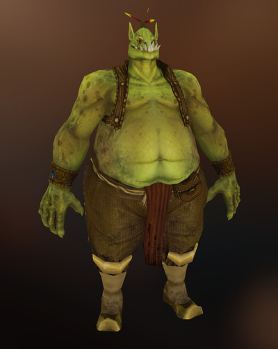 Jose Olivas- 3D art - Ogre handpainted