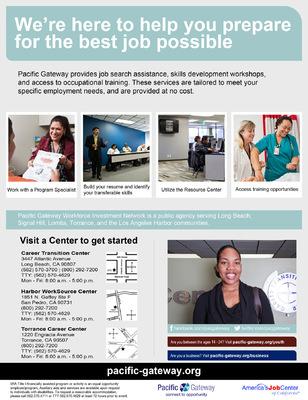 Jaime Arias Portfolio - Adult Services Flyer