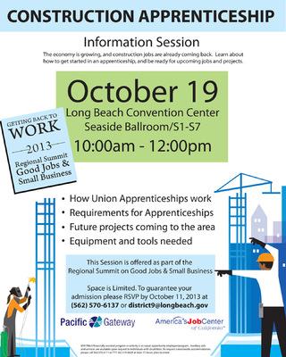 Jaime Arias Portfolio - Construction Apprenticeship Flyer