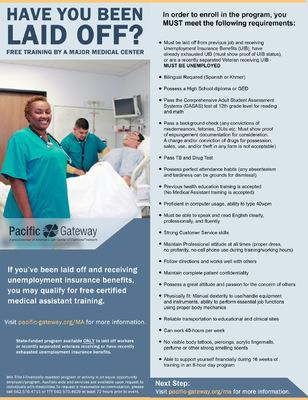 Jaime Arias Portfolio - Medical Assistant Flyer