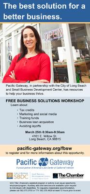 Jaime Arias Portfolio - Business Solutions Flyer