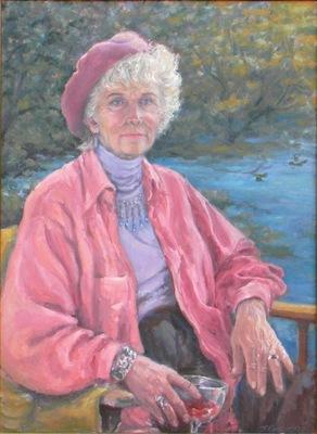 Barbara Reinertson - Portrait of Eleanor 18 x 24