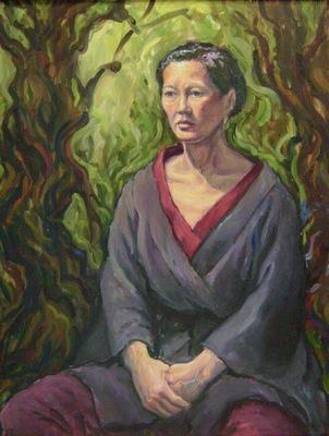 Barbara Reinertson - The Survivor 24 x 30