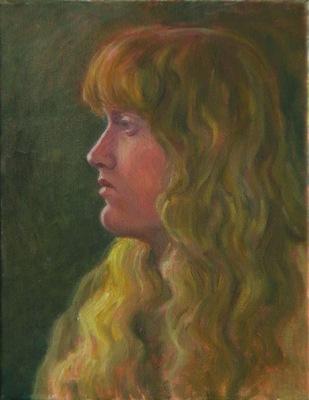 Barbara Reinertson - A Quiet Moment 11 x 14