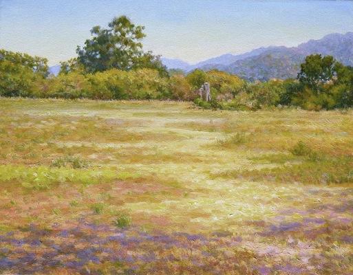 Barbara Reinertson - A Golden Path 18 x 24
