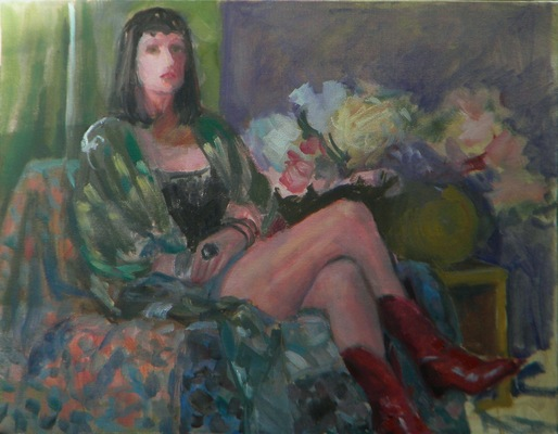 Barbara Reinertson - Kinky Boots 16 x 12