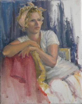 Barbara Reinertson - Seated Model 8 x 10