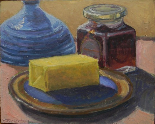 Barbara Reinertson - Better with Butter 12 x 9