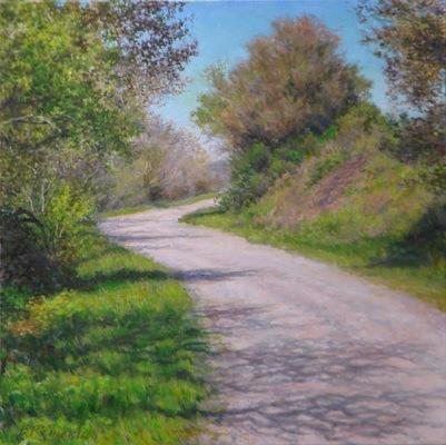 Barbara Reinertson - Near Inverness 20 x 20