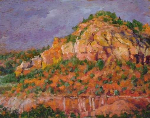 Barbara Reinertson - Red Rock 10 x 8