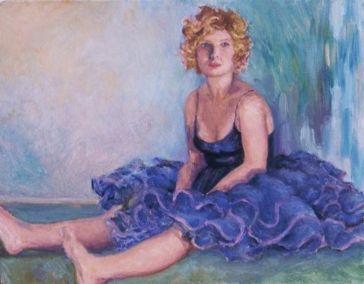 Barbara Reinertson - Tired Tootsies 14 x 11