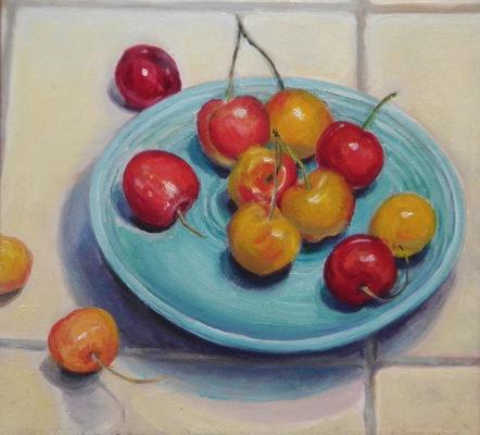 Barbara Reinertson - Cherries Jubilee 12 x 12