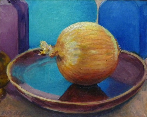 Barbara Reinertson - Onion Reflections 10 x 8
