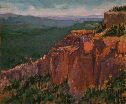 Barbara Reinertson - Bryce Canyon Vista 12 x 9