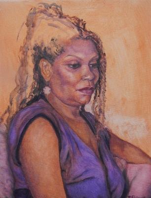 Barbara Reinertson - Zwanda 12 x 16