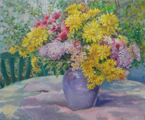 Barbara Reinertson - Outdoor Still Life 24 x 18