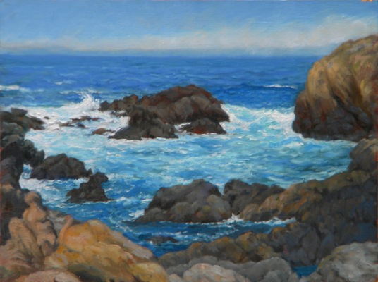 Barbara Reinertson - Point Lobos 16 x 12