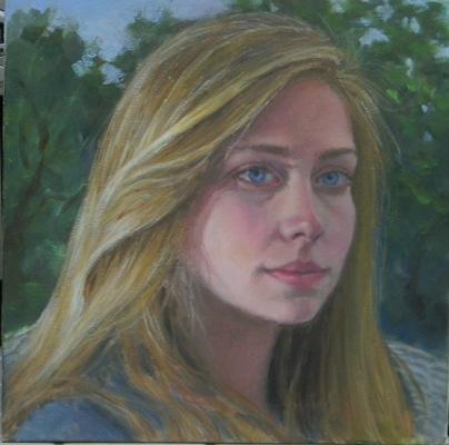 Barbara Reinertson - Anna 12x12