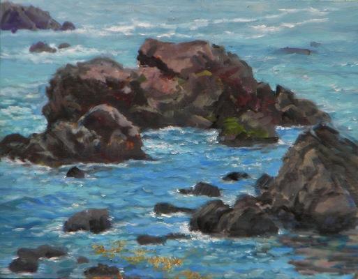 Barbara Reinertson - Bodega Seascape 18 x 14