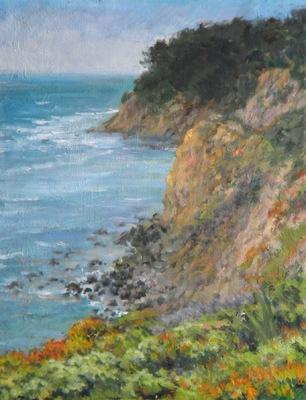 Barbara Reinertson - Moss Beach 12 x 16