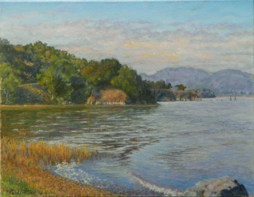 Barbara Reinertson - Along The Shore 18 x 14