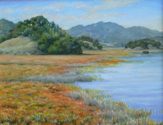 Barbara Reinertson - Turtle Island 18 x 14
