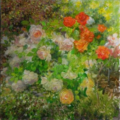 Barbara Reinertson - Julies Roses 24 x 24