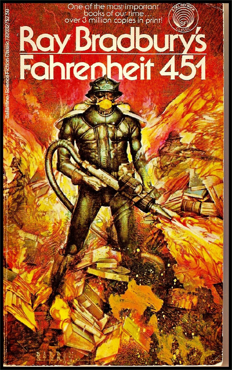 reflections of the society found in the hound in ray bradburys fahrenheit 451 Fahrenheit 451 by ray bradbury home he can't because of the hound beatty hears him and take a long time looking at their reflection the men walk.