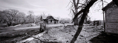 Nieslony Photography - 2002 - Abandoned Ranch - Interstate 6 Nevada - Death Valley Trip