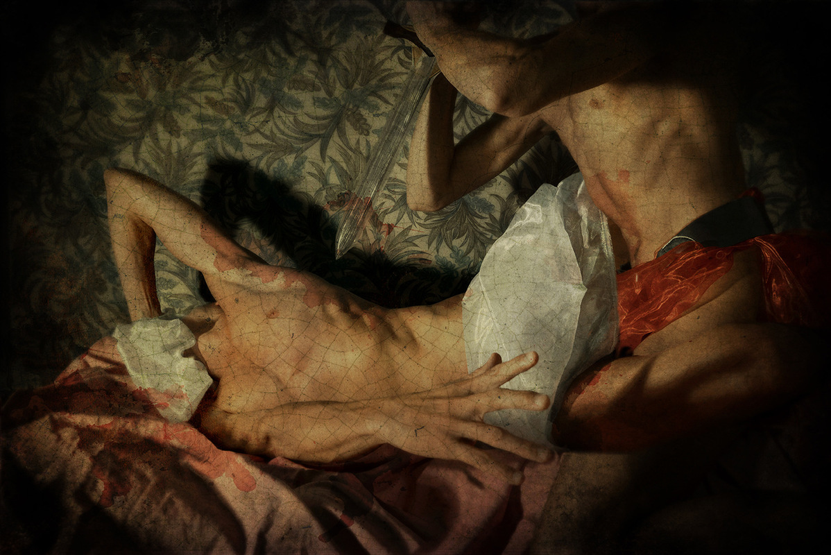 The Antic Staatsoper - Laïos killing his son Oedipe (detail)