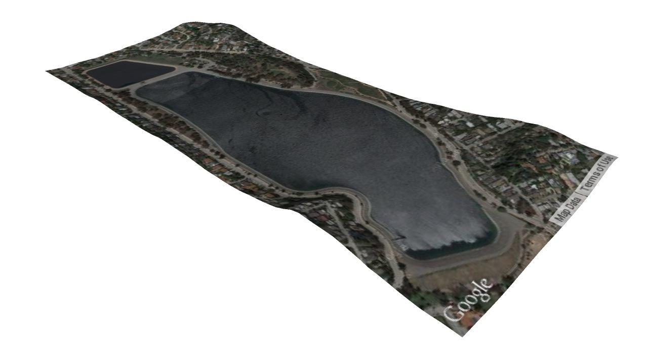 Kylie King - 3D terrain model