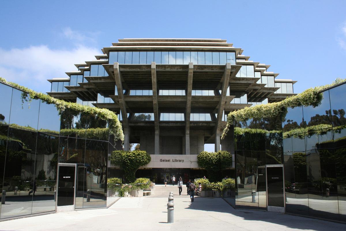 Kylie King - Geisel Library, UC San Diego, CA