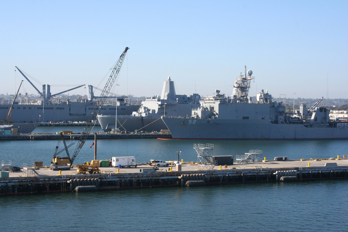 Kylie King - USS Boxer (LHD 4), San Diego, CA