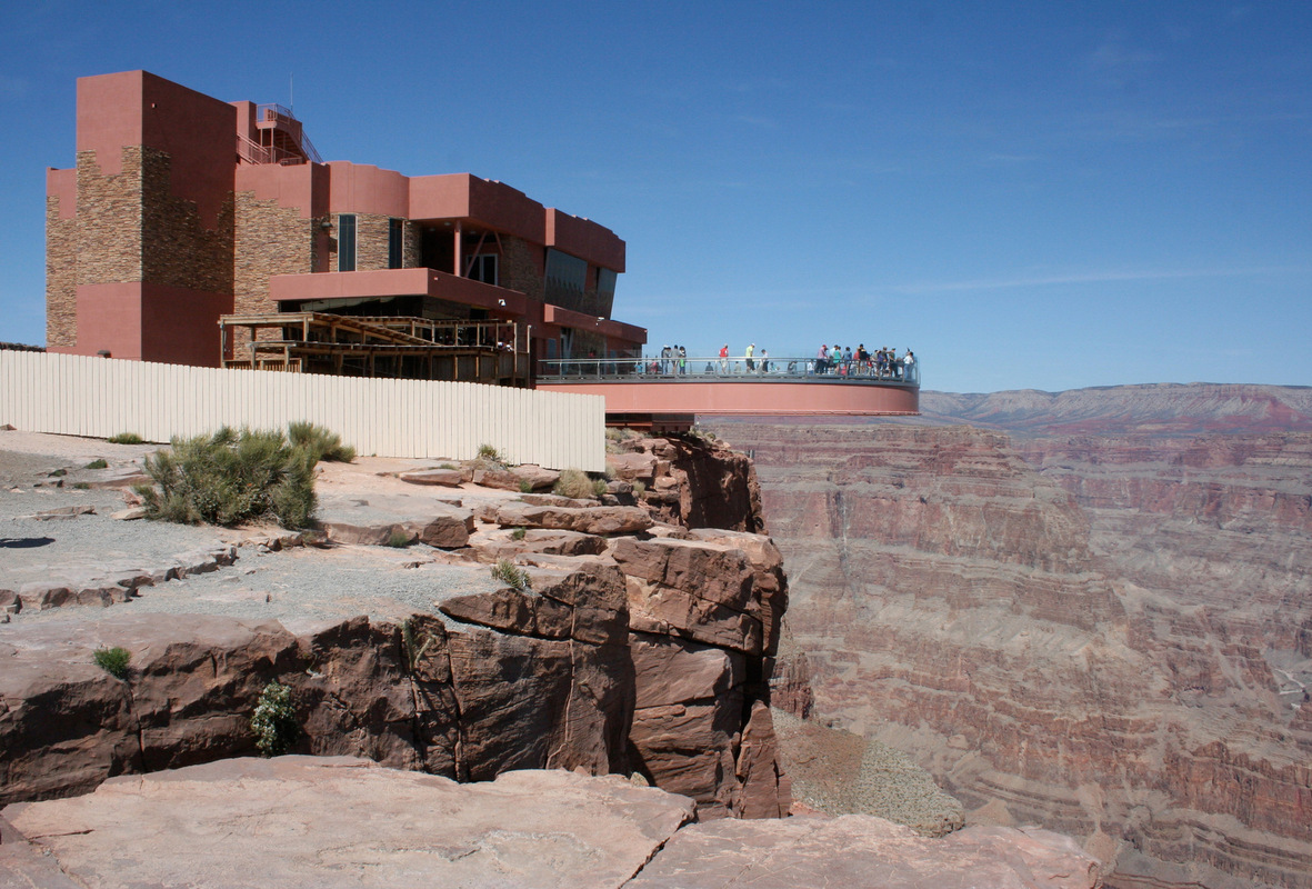 Kylie King - Grand Canyon [West] Skywalk, Arizona