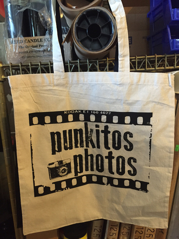 Punkitos Photos - Punkitos Logo Tote - 14x15 $10.00 *SOLD OUT
