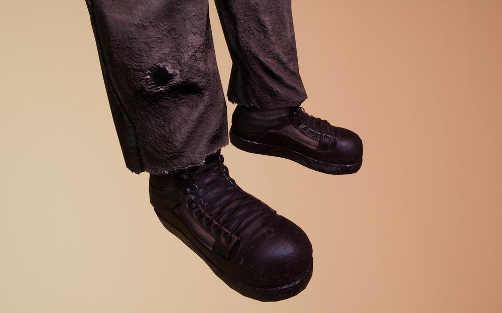 Joels Portfolio - Post Apocalyptic Soldier Boots