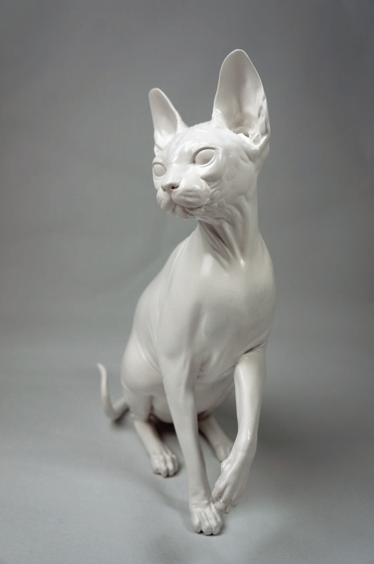 www.mieke-maes.com - Sphynx - Solid resin